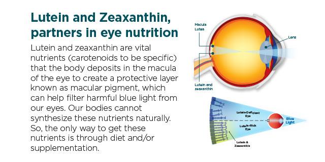 Lutein and Zeaxanthin Vitamin in Lutazene
