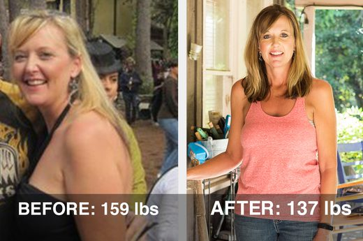 BioLeptin before and after image